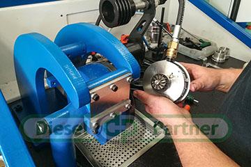 Doważanie wirnika turbosprężarki na urządzeniu Cimat