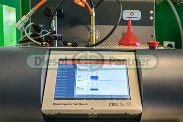 Kodowanie wtryskiwaczy CR na urządzeniu Zapp CRU.2r