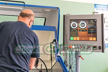 Test doładowania na urzadzeniu Cimat turbo Test